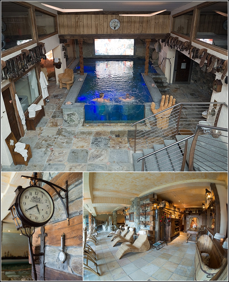 Hotel Bellevue i Cogne, italienske alper