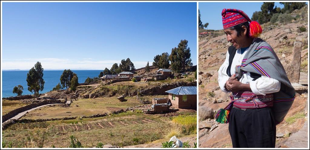 Taquile i Titicacasjøen