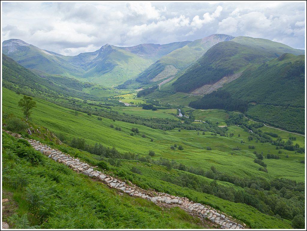 Glen Nevis, Skottland