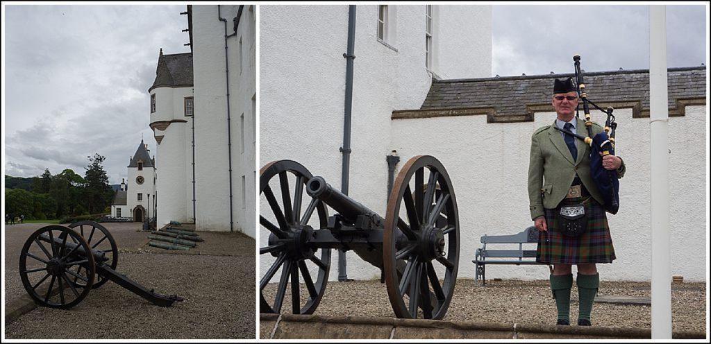 Blair slott i Skottland
