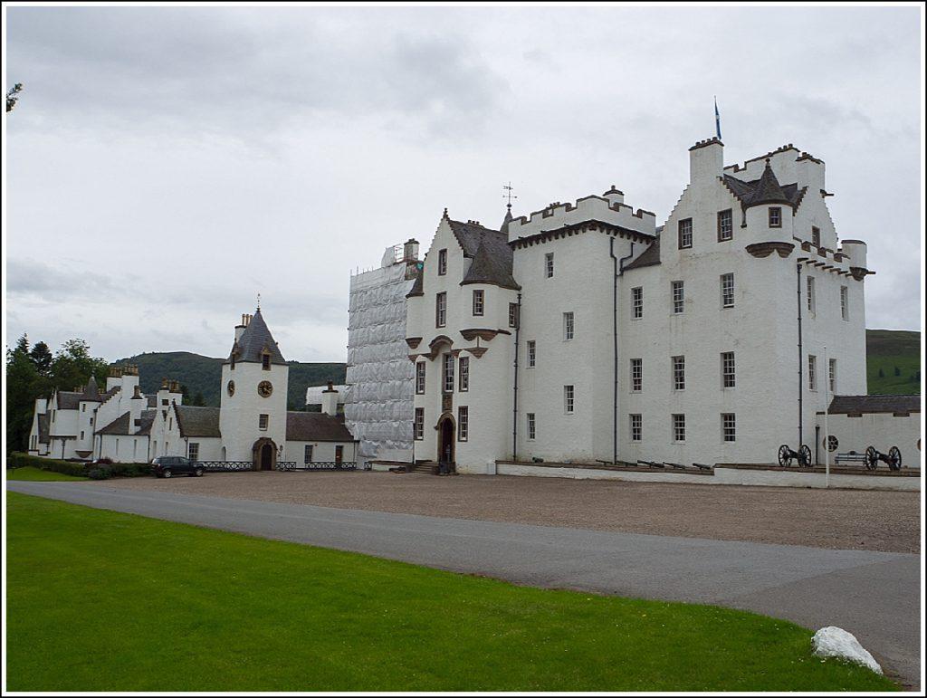 Blair slott i Scotland