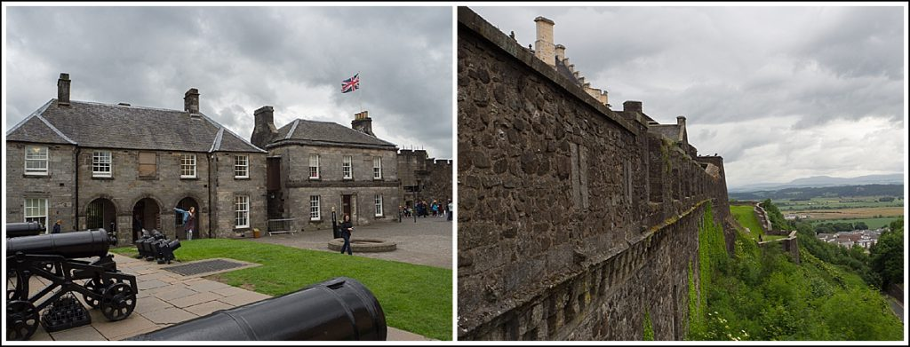 Stirling Slott i Skottland